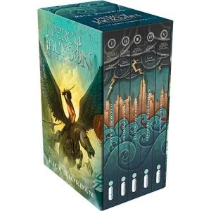 Box Percy Jackson e os Olimpianos (5 Volumes) - R$31,60