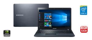 "Notebook Samsung Expert X23 270E5K-XW1 8GB, 1TB, 15.6"" Windows 10 - R$2.399"