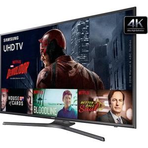"Smart TV LED 55"" Samsung UN55KU6000GXZD Ultra HD 4k por R$2.999,99"