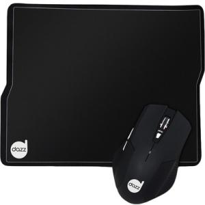 Mouse e Mousepad Gamer Dazz Tiglon 3200 DPI 62168-6 - por R$62