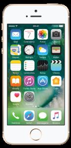 Iphone SE 16GB Dourado + Brinde Carregador Portátil 8800