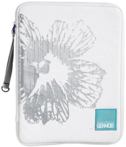 "Capa Golla Zip Folder Modelo Snowy G1324 Branca - 10.1"""