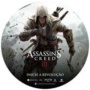 [Ponto Frio] Mouse Pad Assassin's Creed III - Frete GRÁTIS