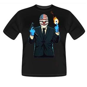 Camiseta Exclusiva Pay Day 2 - Preta Frete Grátis por R$ 24