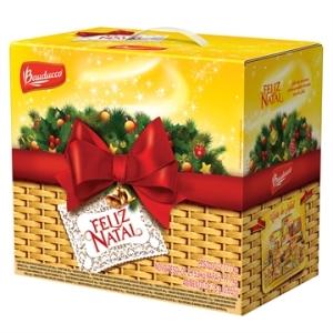 Cesta de Natal Grande - Bauducco por R$76