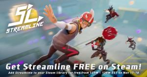 Jogo: Streamline  Ativação gratuita no Steam