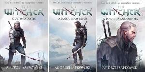Livros The Witcher de Andrzej Sapkowski por R$10 cada