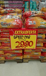 Ração para cachorro - Speed Dog - 10kg - R$29,90