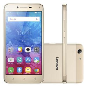 Lenovo Vibe K5 - Dourado - R$749