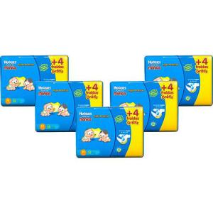 Kit 5 Fraldas Huggies Turma Da Mônica Tripla Proteção (Diversos Tamanhos) por R$123