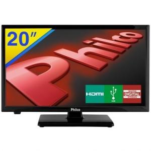 """TV LED 20"""" Philco - R$ 587,90"""