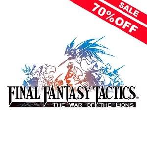 Final Fantasy Tactics com 70% de desconto
