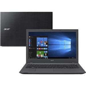 "Notebook Acer E5-574-78LR Intel Core i7 8GB 1TB 15.6"" Windows 10 - Grafite"