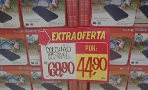 [EXTRA]  Colchão Inflável SOLTEIRO