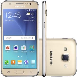[Novo Mundo] Smartphone Galaxy J5 Dourado J500M
