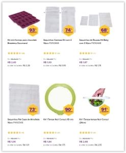 Saldão de Utilidades Domésticas, produtos de excelente qualidade *A partir de R$ 1*