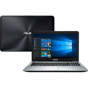 "Notebook Asus X555UB-BRA-XX299T Core 6° i5 8GB ram (NVidia 940m 2GB ) 1TB Tela LED 15,6"" Windows 10 - Preto"
