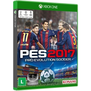 Jogo Xbox One Pro Evolution Soccer 2017 Konami por R$ 70
