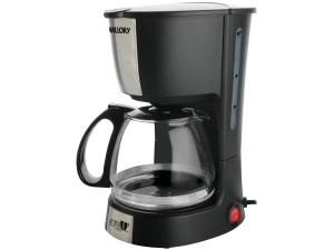 Cafeteira Elétrica Mallory Aroma 16 Xícaras Inox - Preto