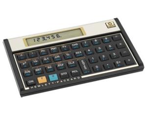 Calculadora Financeira HP12C Gold BR - HP por R$180