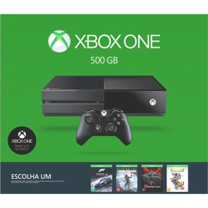 Console Xbox One 500GB Microsoft + Jogo Escolha Seu Game (Via Download)