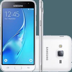 Smartphone Samsung Galaxy J3 Dual Chip Android 5.1 Tela 5'' 8GB  por R$ 550