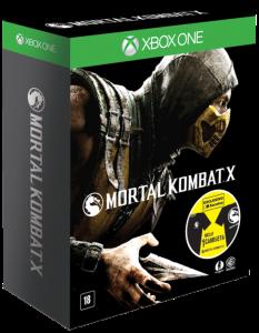 JOGO Mortal Kombat X - Ed. Exclusiva - Inclui Camiseta - Xbox One
