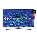 "Smart TV 40"" Ultra HD 4K UN40KU6000GXZD WiFi, 2 USB, 3 HDMI, Gamefly, 120Hz Motion Rate - Samsung"