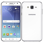 "Smartphone Samsung Galaxy J7, Dual Chip, Branco, Tela 5.5"", 4G+WiFi, Android 5.0, 13MP, 16GB"