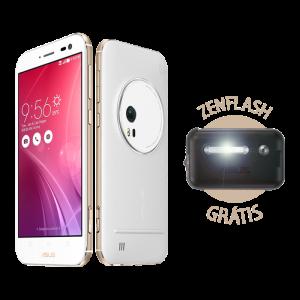 ASUS Zenfone Zoom 64GB Branco R$1.299,00