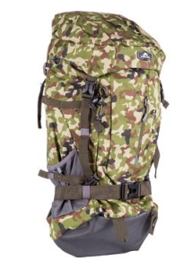 Mochila Ozark Trail 55 Litros com Porta Notebook Camuflagem Exército por R$ 100