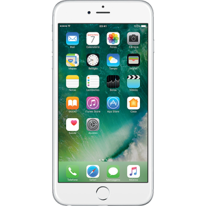 "iPhone 6 64GB Prata Tela 4.7"" iOS 8 4G Câmera 8MP - Apple por R$2442"