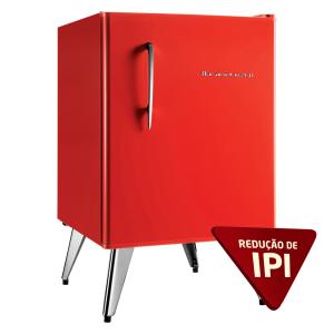 50% OFF Mini Refrigerador Brastemp 1 Porta Retrô - R$939