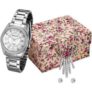 [Shoptime] Relógio Feminino Seculus Analógico com Calendário - R$98,99