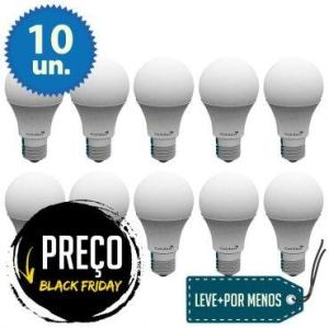 [Ricardo Eletro] Kit Com 10 Lâmpadas de Led A60 5W - R$69,90
