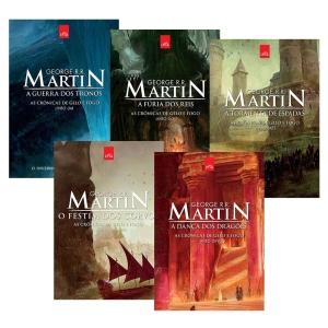 Coleção As Crônicas de Gelo e Fogo - Edição Comemorativa - 5 Volumes - R$49,50