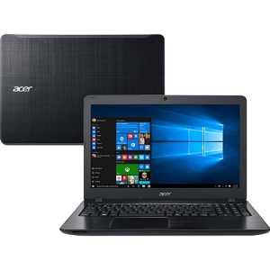 "Notebook Acer F5-573-521B Intel Core i5 8GB 1TB Tela 15.6"" Windows 10 - Preto - R$ 1871"