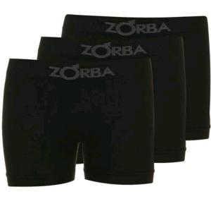 Kit Com 3 Cuecas Boxer Zorba Sem Costura GG