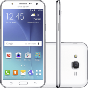 "Smartphone Samsung Galaxy J7 Duos Dual Chip Android 5.1 Tela 5.5"" 16GB 4G Câmera 13MP - Branco"