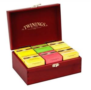 Cha Twinings Caixa De Madeira Com 60 Saches