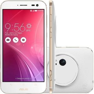 "[Cartão Submarino] Smartphone Asus Zenfone Zoom Android Tela 5.5"" 4G 13MP 64GB - Branco"