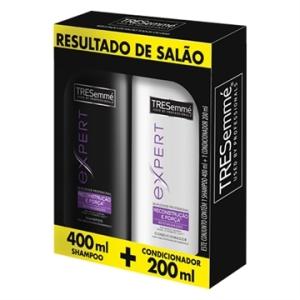 Kit Shampoo 400ml + Condicionador Hidratação Profunda 200ml - TRESemmé | 10,90