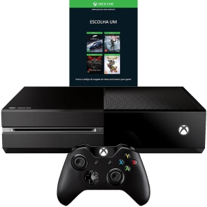 Xbox One 500GB + Escolha Seu Jogo (Via Download)