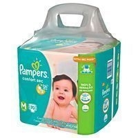 Fralda Pampers Confort Sec - R$45