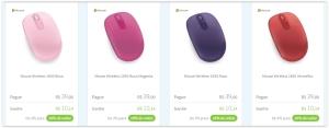 Mouse Wireless 1850 Diversas COres com Meliuz