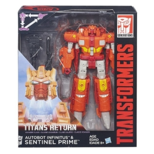 Boneco Transformers - Voyager Class - Sentinel Prime - Hasbro