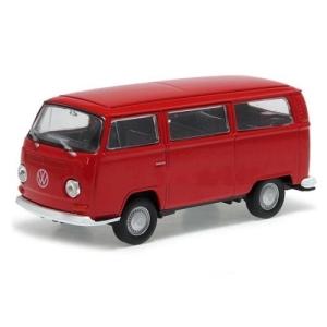 Carrinho Welly 72 Volkswagen Bus T2 Escala 1:34 Dmc2423 Vermelho