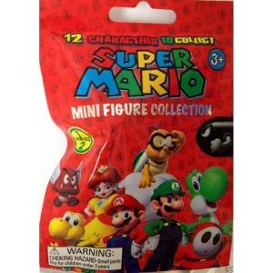 Super Mario - Saquinho Surpresa Com Mini Figura Séries 1 E 2