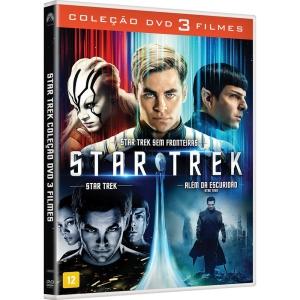 Box DVD - Coleção Star Trek (3 Discos)