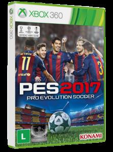 Jogo XBOX 360 Pro Evolution Soccer 2017 Konami
